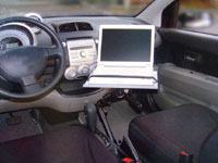 車載用アーム「CAR LAPTOP HOLDER」