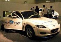 水素ロータリーエンジン車